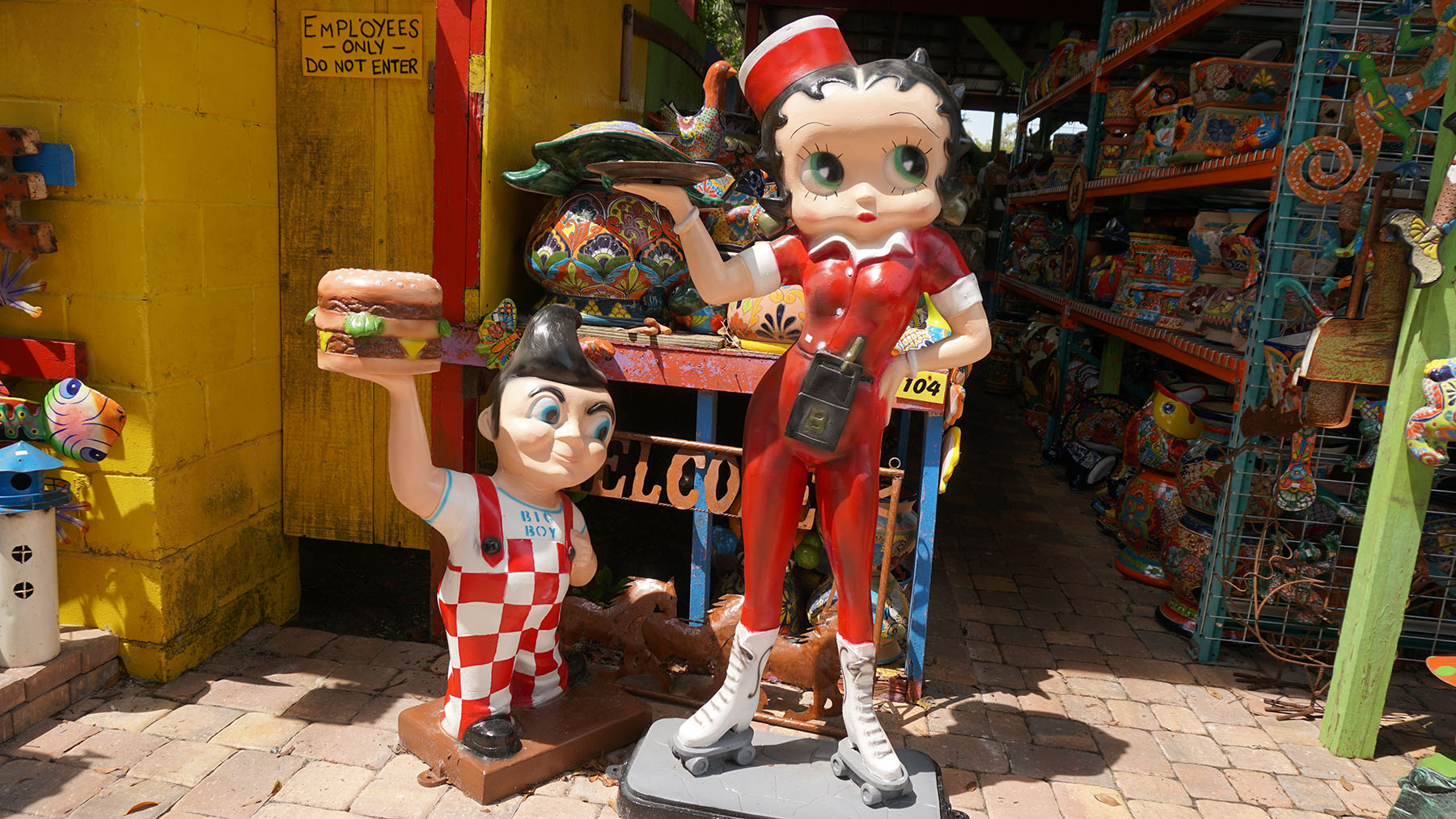 Betty Boop and Big Boy