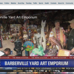 Barberville Yard Art Emporium on Fox News Orlando
