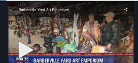 Barberville Yard Art Emporium at Good Day Orlando Fox News