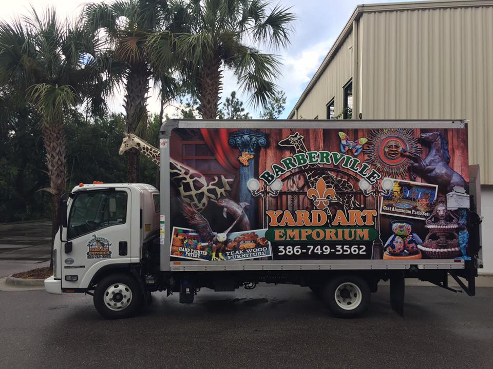 Barberville Roadside's Delivery Truck
